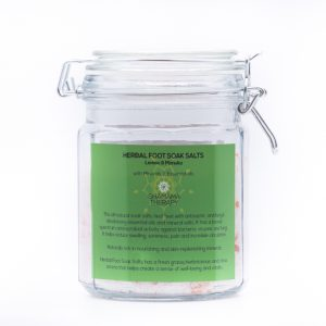 herbal foot soak salts