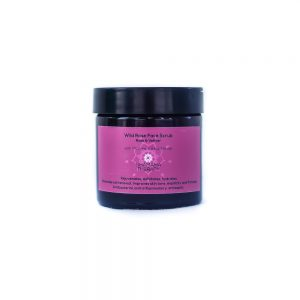 wild rose face scrub