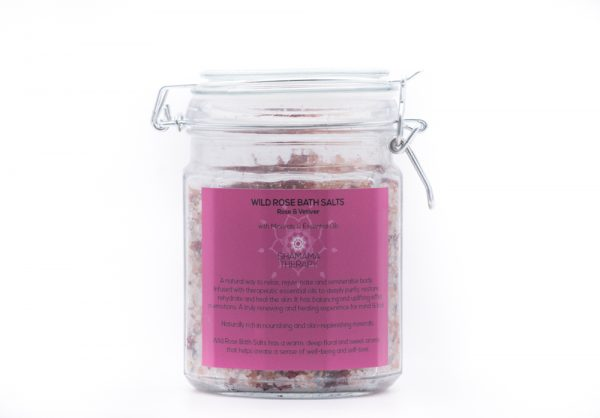 wild rose bath salts